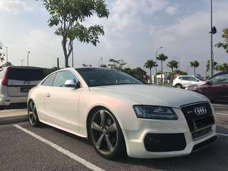 Audi A5 3.2 coupe for rental/lease