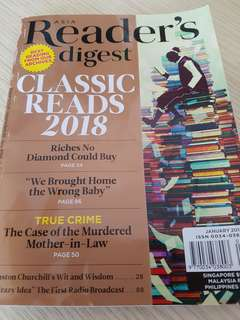 Reader Digest January 2018