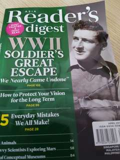 Reader Digest April 2018