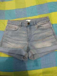 H&M Cuffed Shorts