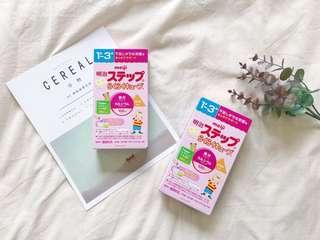 🚚 日本meiji明治奶粉第二階段外出型攜帶包 1歲-3歲 一袋4入 X 5袋