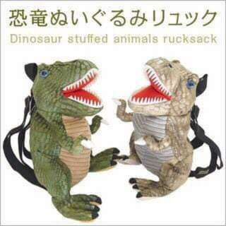 🌈小孩專用 恐龍立體後背包 Children's special dinosaur stereo backpack