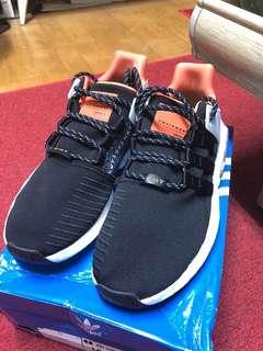 🚚 Adidas EQT 93/17 黑橘 CQ2396 size:US10