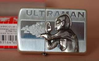 日本版ZiPPO打火機 JZ38410  超人  ウルトラマン  ULTRAMAN  40th Anniversary 記念版 咸蛋超人 鹹蛋