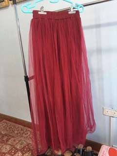 Red Tutu Skirt