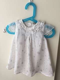 Armani Baby超仙氣嬰兒洋裝(9M/68cm)