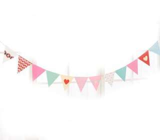 Hearts Party Garlands