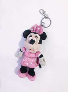 ▪️Disney Minnie Mouse Plushie with Key Chain▪️