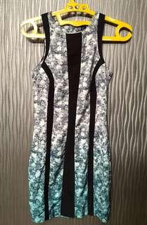H&M Floral Gradient Dress size S