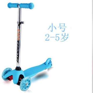 🚚 Toddler Children Kids Scooter, Kick Scooter (PU Light-up Wheels with braking system) - In stock
