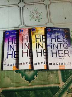 HE'S INTO HER (book 4,5,6,8)