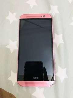 🚚 HTC M8 粉(有包膜)
