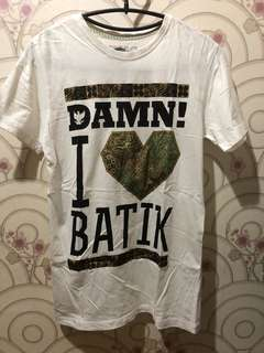 Tee by Damn I Love Indonesia Daniel Manatta