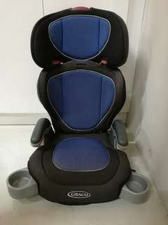 Graco high baby back booster car seat