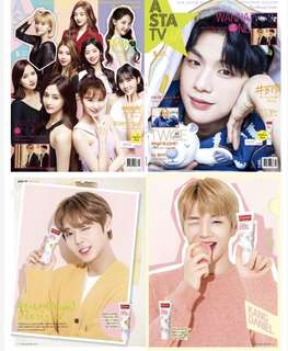 Wanna One Twice 雙封面 ASTA TV 5月刊