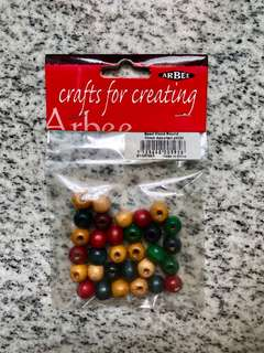 #1: Mixed beads | #2: Green beads | #3: Red beads