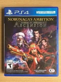 Nobunaga's Ambition SOI Ascension PS4