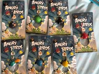 Angry Bird Keychain