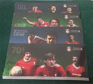 Liverpool FC Memorabilia Collectible Cash Cards