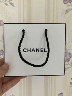 Chanel Paper Bag (small)