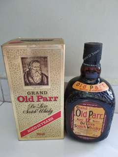 Grand Old Parr 12 years Scotch Whisky