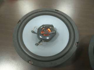 Hertz Dcx 165 120w 4π 93db/SPL speakers