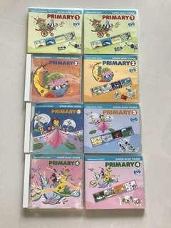 Yamaha primary 1-4 Cd and DvD