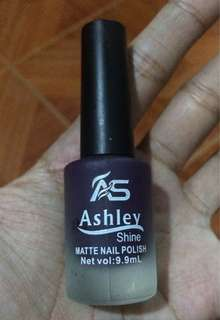 Ashley Shine Matte Nail Polish