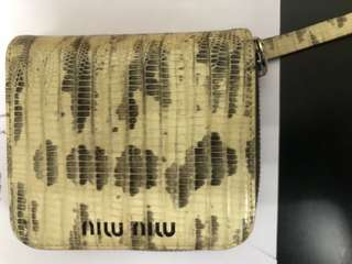 Miu Miu Vintage Zip Wallet