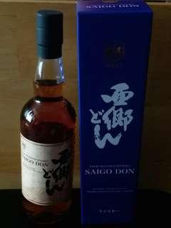 【日本威士忌】 西鄉SAIGO DON Mars Blended Whisky 津貫蒸溜所 明治維生150週年記念限量版
