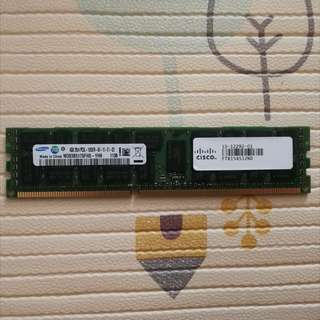 Samsung Cisco DDR3 ECC Registered RAM 4GB PC3L-10600R CL9, Huge Quantity