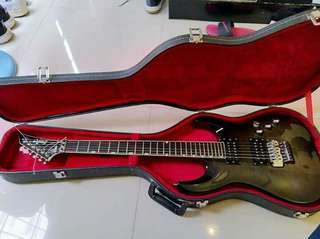 Grassroots Electric Guitar with hardcase