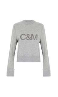 Camilla & Marc Bianca crew sweat jumper size 8 C&M