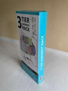 Clothing Rack - 3 Tiers Garment Rack