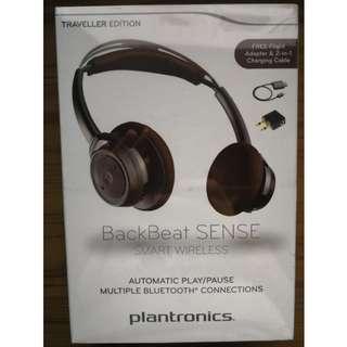 Brand New Plantronics BackBeat Sense Smart Wireless Traveller Edition Headphones