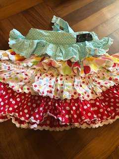 Oobi signature tiered ruffle skirt