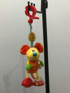 Playgro plush toy for stroller