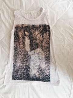 see through sleeveless top
