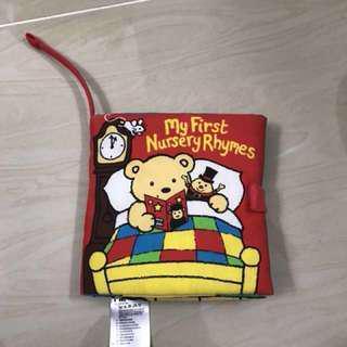 My first nursery rhymes cloth book