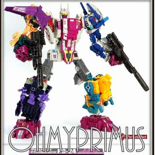 Perfect Effect PE PC-24 PC24 - Transformers Takara Hasbro Power Of The Primes POTP Abominus Terrorcons Upgrade Kit