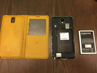 Samsung Note 3 LTE N9005 (壞mon, LCD mon is not working)