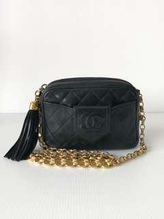 Authentic Chanel Camera Crossbody Bag