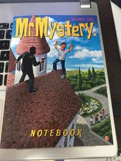 Mr Mystery Collectible Notebook 32p