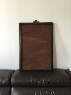 Old Chinese wood frame