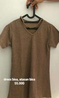 top on brown
