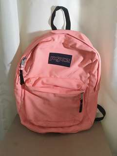 Jansport Backpack (Peach Pink)