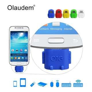Otg Micro Usb Mini Model Robot Android