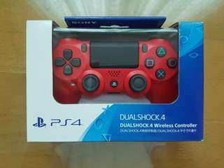 Brandnew PS4 dual shock 4 controller (lava red)