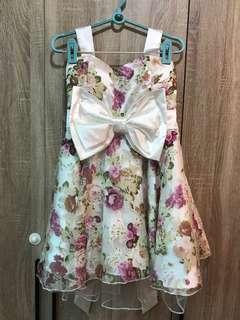 🚚 碎花禮服洋裝