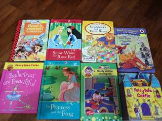 Kids books each is for $1(not for fussy buyers)